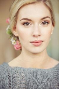آرایش عروس برای صورت کشیده