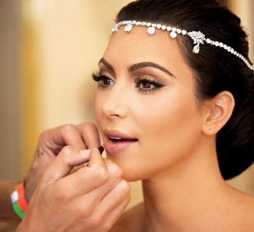 آرایش عروس برنزه