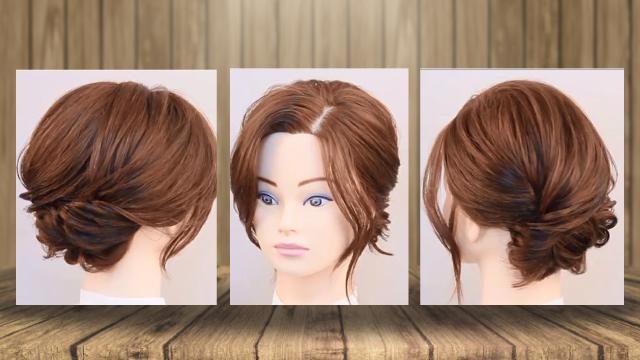 شینیون مو کوتاه