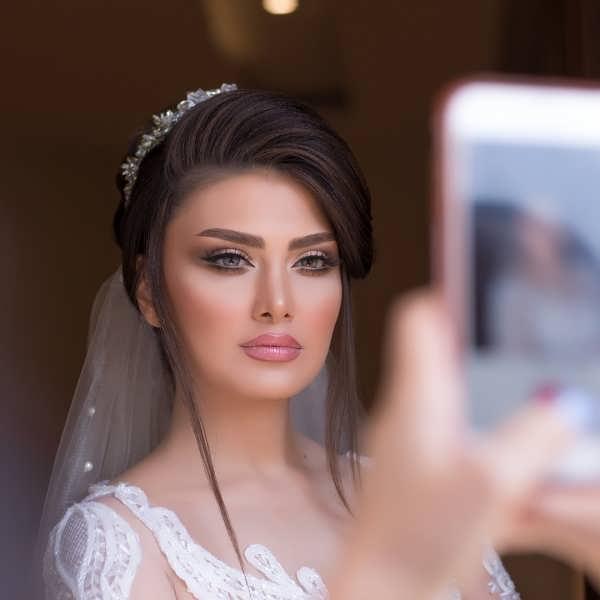 مدل آرایش عروس 2020