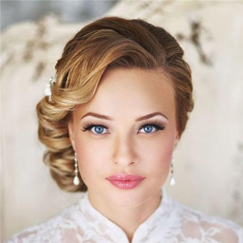 مدل های جدید آرایش عروس