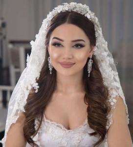 آرایش عروس چشم مشکی